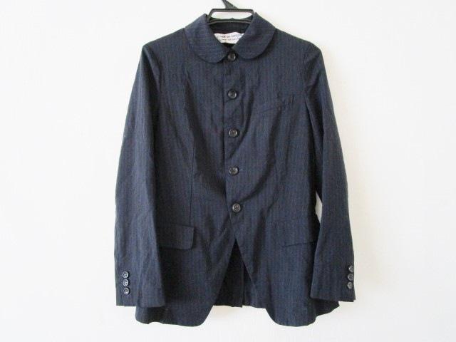 COMMEdesGARCONS COMMEdesGARCONS(コムデギャルソン コムデギャルソン)のジャケット 黒×パープル
