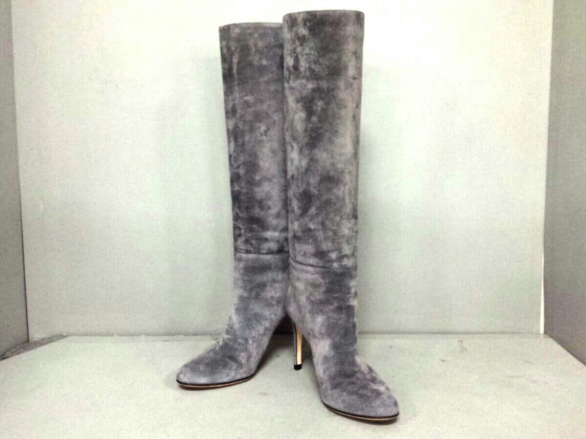 sergio rossi(セルジオロッシ)のブーツ グレー