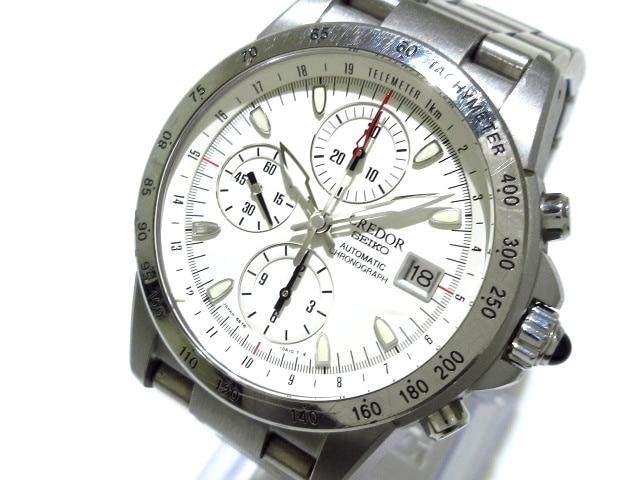 6S78-0A20_フェニックス_腕時計 白__