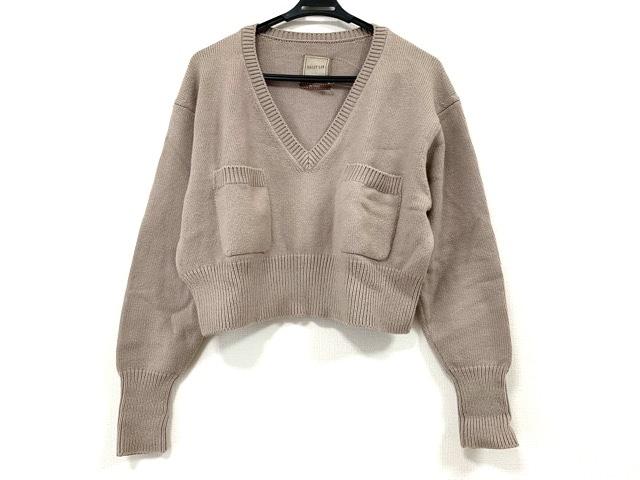 セーター ライトブラウン____