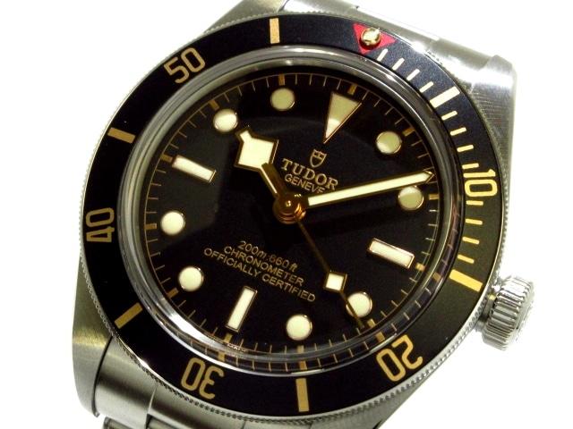 TUDOR 腕時計 ブラックベイ フィフティーエイト 79030N※箱・ケース・取扱説明書・ギャランティ・余りコマ付き