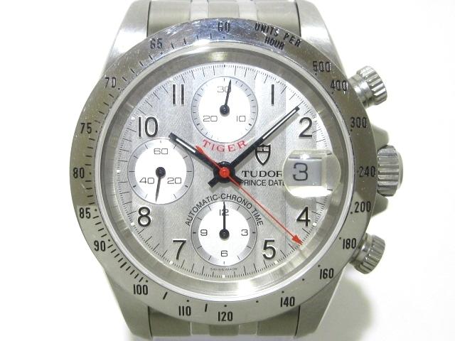 TUDOR 腕時計 ブクロノタイム プリンスデイト タイガー 79280※箱・ケース・取扱説明書・ギャランティ・余りコマ付き