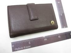 AIGNER(アイグナー)の3つ折り財布
