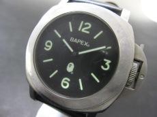 A BATHING APE(ア ベイシング エイプ)の腕時計