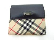 Burberry Blue Label(バーバリーブルーレーベル)の3つ折り財布