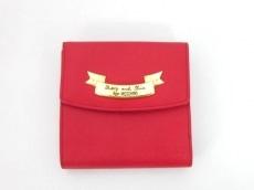 MOSCHINO(モスキーノ)のWホック財布