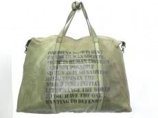 ISAMU KATAYAMA(イサムカタヤマ)のボストンバッグ