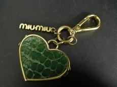 miumiu(ミュウミュウ)のキーホルダー(チャーム)