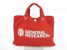 GENERAL RESEARCH(ジェネラルリサーチ)のトートバッグ