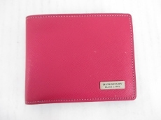 Burberry Black Label(バーバリーブラックレーベル)の2つ折り財布