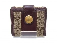 COACH(コーチ)のWホック財布