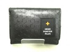 HEADPORTERPLUS(ヘッドポータープラス)の3つ折り財布