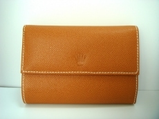 ROLEX(ロレックス)の3つ折り財布