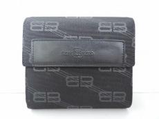 BALENCIAGA BB(バレンシアガライセンス)の3つ折り財布