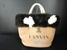 LANVIN en Bleu(ランバンオンブルー)のトートバッグ