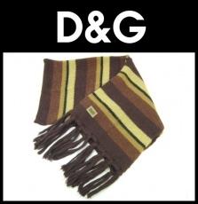 D&G(ディーアンドジー)のマフラー