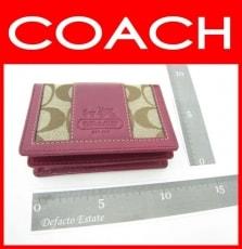 COACH(コーチ)の名刺入れ
