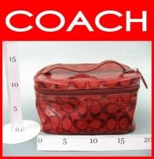 COACH(コーチ)のバニティバッグ