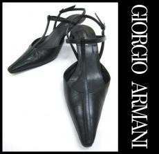 GIORGIOARMANI(ジョルジオアルマーニ)のパンプス