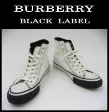BurberryBlackLabel(バーバリーブラックレーベル)のスニーカー