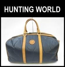 HUNTINGWORLD(ハンティングワールド)のボストンバッグ