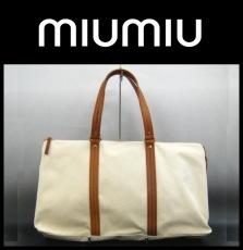 miumiu(ミュウミュウ)のボストンバッグ