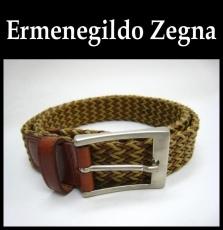 ErmenegildoZegna(ゼニア)のベルト
