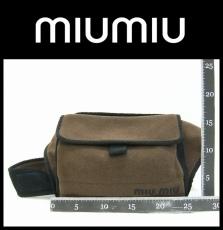 miumiu(ミュウミュウ)のウエストポーチ