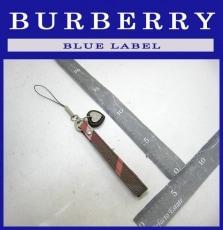 Burberry Blue Label(バーバリーブルーレーベル)のストラップ