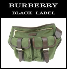 Burberry Black Label(バーバリーブラックレーベル)のウエストポーチ