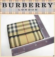 BurberryLONDON(バーバリーロンドン)のWホック財布