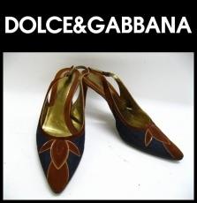 DOLCE&GABBANA(ドルチェアンドガッバーナ)のパンプス