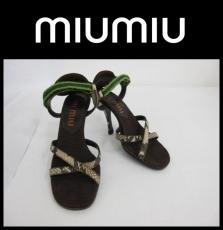 miumiu(ミュウミュウ)のサンダル