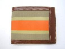 kinoshohampu/木の庄帆布(キノショウハンプ)の2つ折り財布