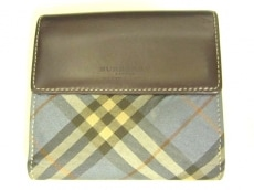 BurberryBlueLabel(バーバリーブルーレーベル)のWホック財布