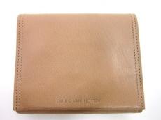 DRIES VAN NOTEN(ドリスヴァンノッテン)の3つ折り財布