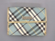 Burberry Blue Label(バーバリーブルーレーベル)のWホック財布