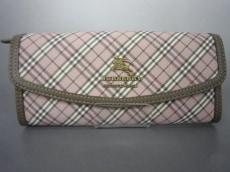 BurberryBlueLabel(バーバリーブルーレーベル)の長財布