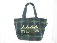 muta(ムータ)のトートバッグ