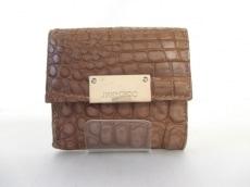 JIMMYCHOO(ジミーチュウ)のWホック財布