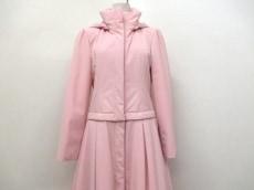 美品 FOXEY(フォクシー) ダウンコート レディース 40 ピンク