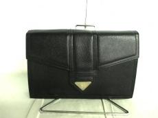 YvesSaintLaurent(サンローラン) セカンドバッグ 黒 レザー