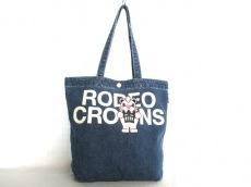 RCWBRODEOCROWNSWIDEBOWL(ロデオクラウンズ)のトートバッグ