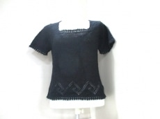 MOSCHINO CHEAP&CHIC(モスキーノ) 半袖セーター レディース 黒