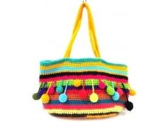 ahcahcum muchacha(アチャチュムムチャチャ)のトートバッグ