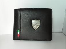 PUMA×FERRARI(プーマ×フェラーリ)の2つ折り財布