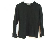 ヨウジヤマモト 長袖セーター 2 メンズ 黒 yohjiyamamoto
