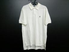 ポロラルフローレン 半袖ポロシャツ L メンズ アイボリー