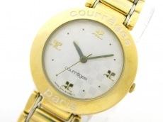 COURREGES(クレージュ)の腕時計
