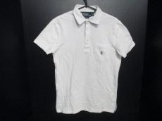 美品 ポロラルフローレン 半袖ポロシャツ メンズ S 白